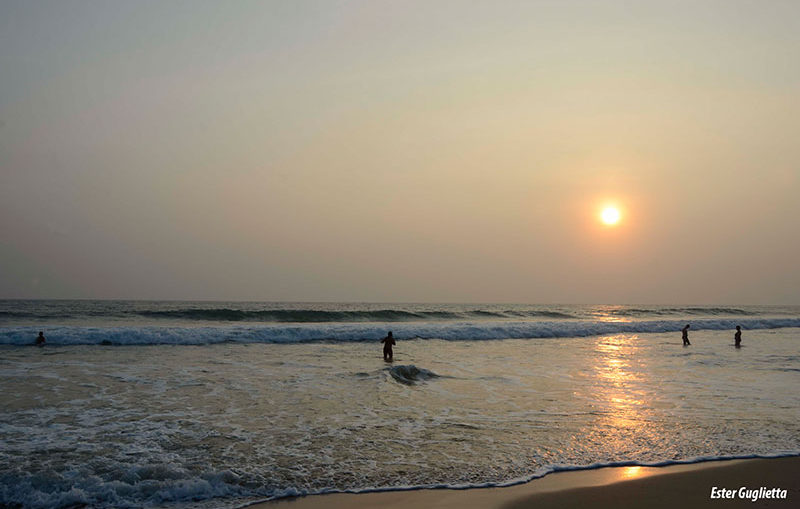Koggala, playa