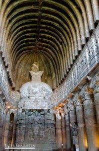 India, Aurangabad, Cuevas de Ajanta