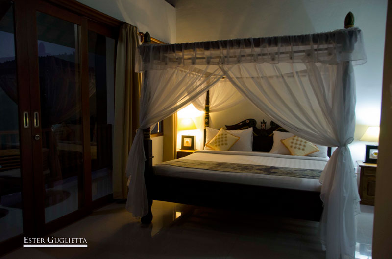 Asia, Bali, Indonesia, Munduk, Hotel Munduk Sari Garden Villa, Lago Tamblingan, Melanting Waterfall
