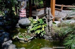 Asia, Bali, Indonesia, Munduk, Lago Tamblingan, Lago Buyan, Red Koral Cascada, Melanting Waterfall