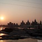 0705.-Atardecer-en-el-rio-Betwa