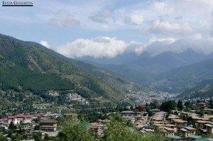 Valle de Thimphu