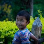 Niño en el Dzong