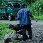 Quitando piedras