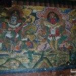 Pinturas en el templo