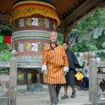 Rueda oración en Trongsa