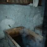 Baño de piedras calientes
