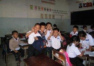 Escuela en Vientian
