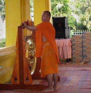 Monje en Wat Mixay Yaram