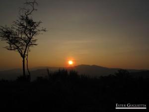 Paisaje desde el poblado Ban Chom Cheng