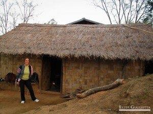 Casa donde dormimos en Ban Chom Cheng