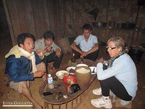 Cenando nuestra fabulosa comida