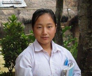 Chica en Muang Phone Xay