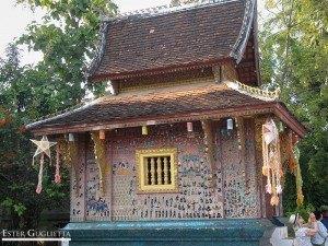 Wat Xieng Thong, la capilla rosa