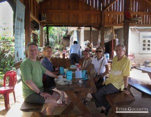 Con nuestros compañeros de excursión