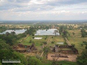 Paisaje desde el Wat Phu