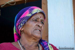 Saraswati Devi, vecina de Negi