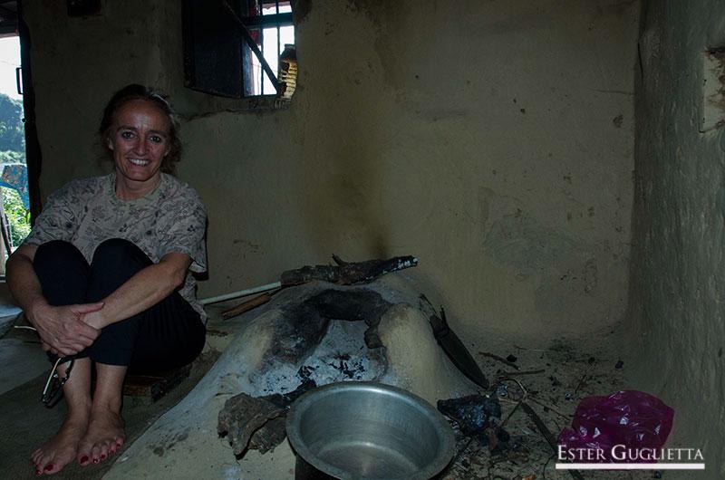 Cocina en casa de Negi