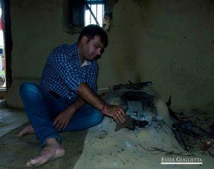 Mayank en la cocina de Negi
