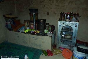 Cocina de la casa de Negi