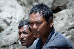 Trabajadores nepalíes