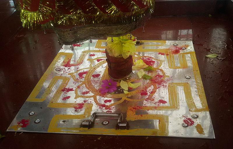 Sri Yantra, foto cedida por Pandit Sanjay Bhatt