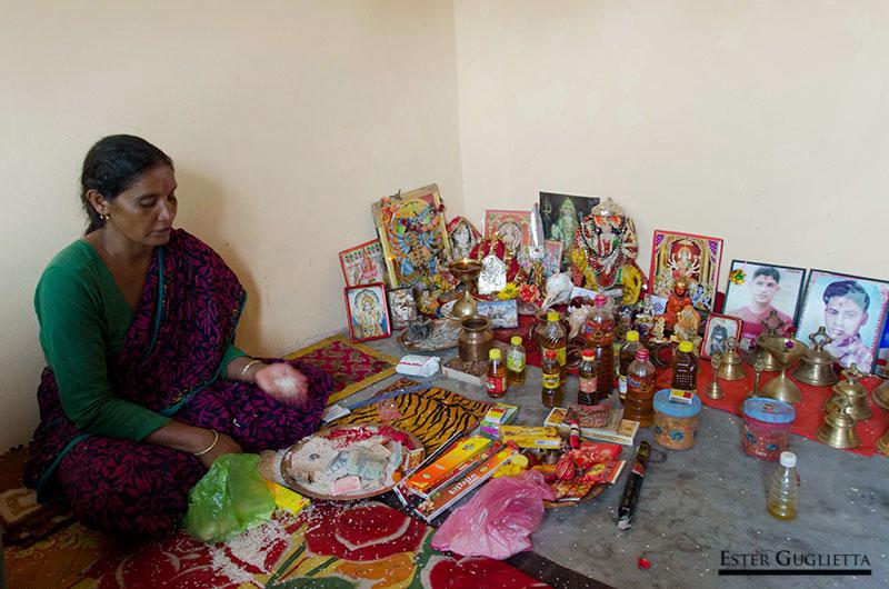 Sunita Devi, la mujer chamán