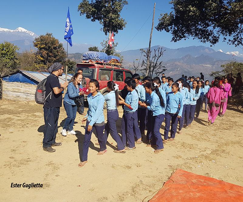Gorkha, escuela